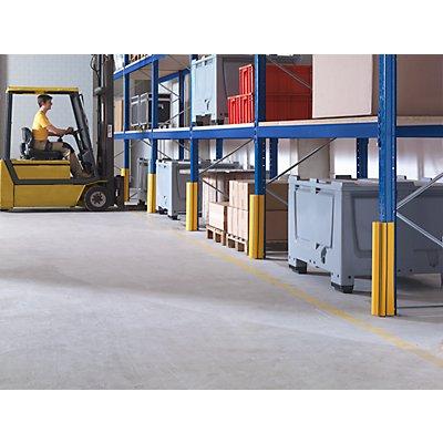 Regalschutz, zertifiziert - Höhe 600 mm, für Ständerbreite 75 - 100 mm