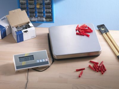 Tischwaage - Wägebereich max. 35 kg, Ziffernschritt 10 g