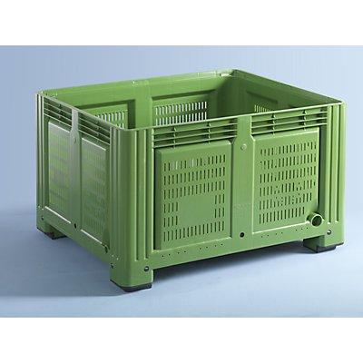 Capp Plast Großbehälter - Seiten durchbrochen, Inhalt 680 l
