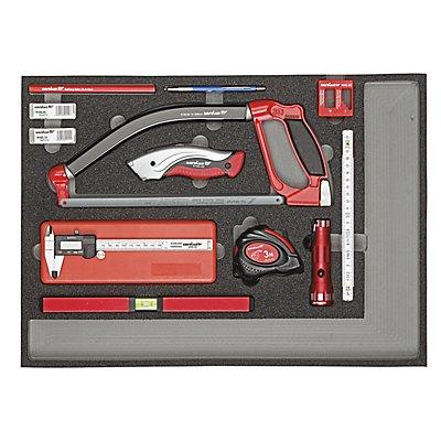 Carolus Werkzeugset - messen und schneiden, Gewicht 3 kg
