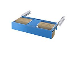Lista Auszüge für Hängemappen - für DIN A4, lichtblau