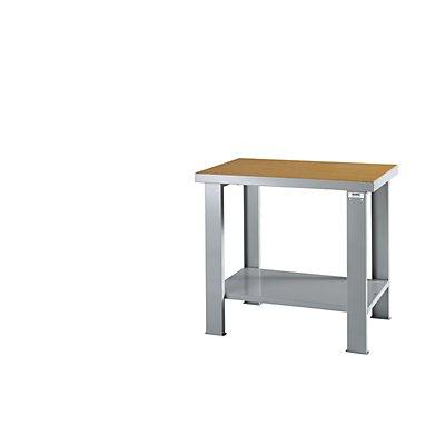 QUIPO Schwerlast-Werktisch - mit Multiplex-Arbeitsplatte