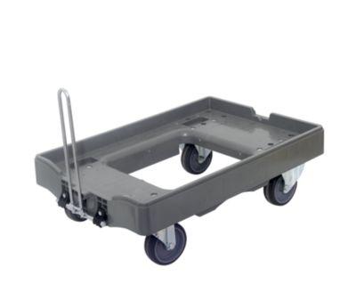 Transportroller, Tragfähigkeit 300 kg - Mit je 2 Lenk- und 2 Bockrollen, VE 2 Stk