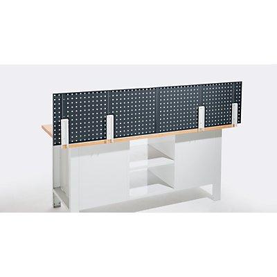 Tischmontage-Set, für Lochplatten - waagrechte Montage, Stück