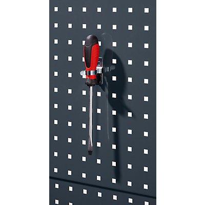 Werkzeugklemme, einfach - drehbar, VE 5 Stk