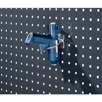 Rundhalter - mit breiter Grundplatte, VE 5 Stk