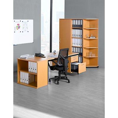 fm büromöbel LENA Sideboard - 2 Ordnerhöhen, HxBxT 722 x 800 x 442 mm