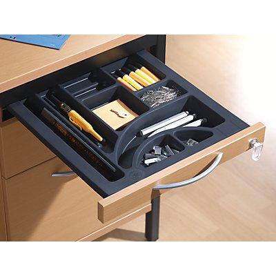 LENA Bürocontainer - Standcontainer mit 4 Materialschüben