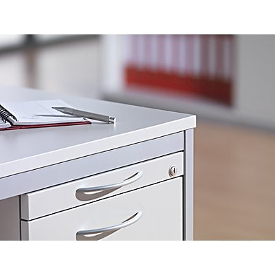 fm büromöbel LENA Schreibtisch - BxT 1600 x 800 mm, höhenverstellbar