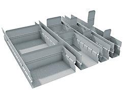 Schubladeneinteilungs-Set - Höhe 100 mm - 14-teilig