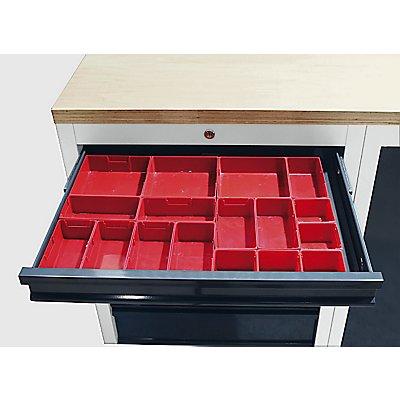 Kunststoffkästen-Set, 17-teilig, Set