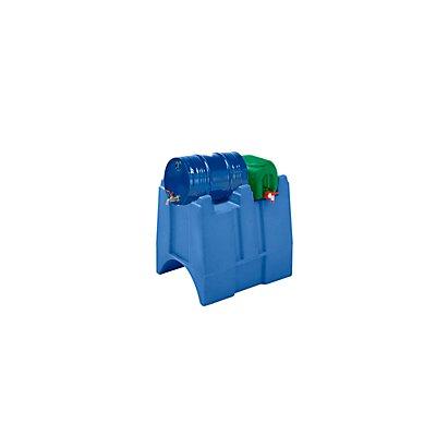PE-Abfüllbock, LxBxH 875 x 765 x 730 mm blau