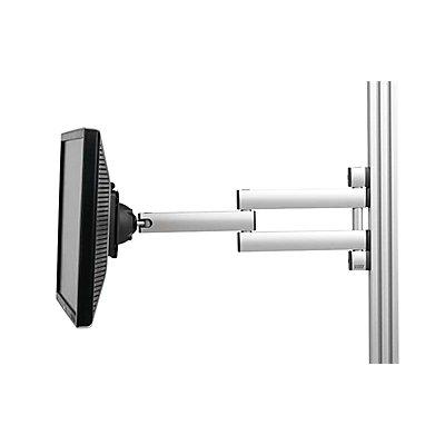 TRESTON TFT-Schwenkarm, dreidimensional verstellbar Tragkraft 5 kg