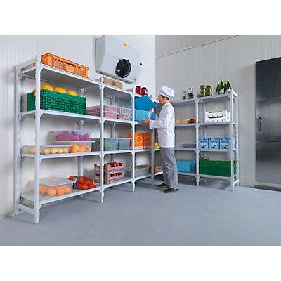 Kunststoff-Steckregalsystem Premium, Fachboden-BxT 900 x 500 mm