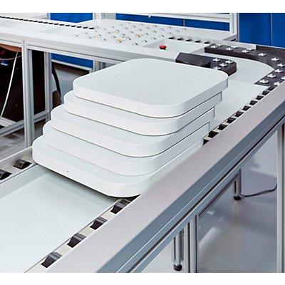 TRESTON Arbeitsplatz-Materialflusssystem, Werkstückträger-Set BxT 300 x 300 mm