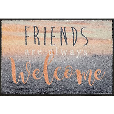 """Türmatte """"Welcome Friends"""" von wash+dry - LxB 750x500 mm"""