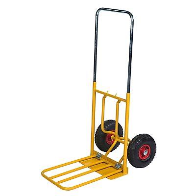 Kongamek Sackkarre - gelb, Tragfähigkeit 150 kg