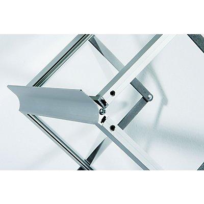 Falt-Prospektständer - 6 x DIN A4, Acryl
