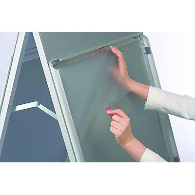 Design-Kundenstopper PremiumPlus - aus Aluminium