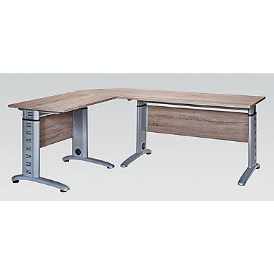 Schomburg Schreibtisch SERIE 1200 - HxBxT 69,5-87,5 x 1400 x 650 mm