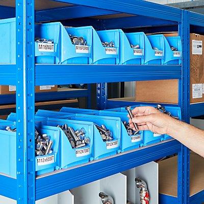 Stabiles Garagenregal - Tragkraft bis zu 265 Kg pro Fachboden