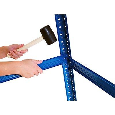 Mega Deal | 3x Lagerregale - Tiefe 45 cm | Tragkraft 200 kg pro Fachboden