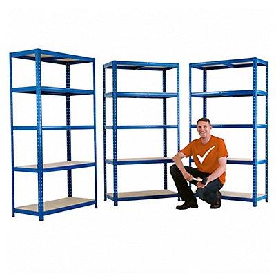 Stabiles Werkstattregal - Tragkraft bis zu 200 Kg pro Fachboden