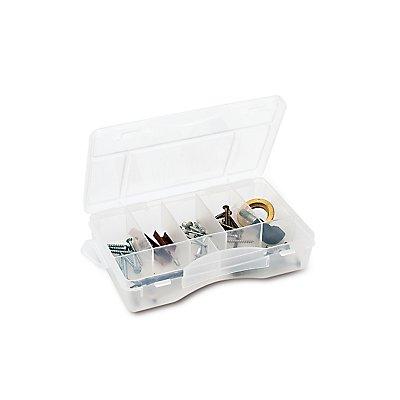 Sortimentsbox mit diversen Fächern - unbestückt - HxBxT 170 x 114 x 36 mm
