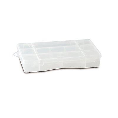 Sortimentsbox mit diversen Fächern - unbestückt - HxBxT 240 x 155 x 41 mm