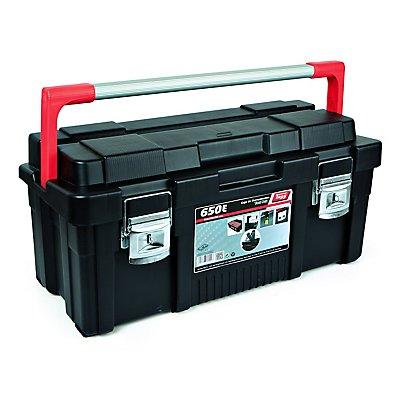 Werkzeugkoffer mit herausnehmbarem Sortimentskasten - HxBxT 650 x 300 x 295 mm