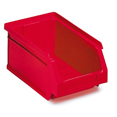 Sichtlagerkasten 24 Stück - 0,8 Liter - HxBxT 70 x 100 x 80 mm