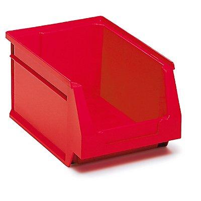 Sichtlagerkasten 15 Stück - 3,2 Liter - HxBxT 236 x 160 x 130 mm