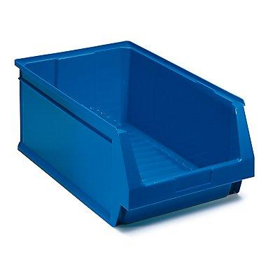 Schwerlastregal mit 12 blauen Sichtlagerkästen im Set - HxBxT 1780 x 900 x 600 mm
