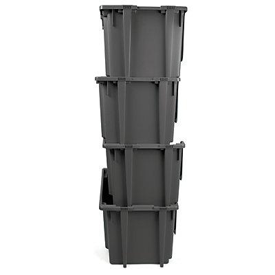 Sichtlagerkasten - 55 Liter - HxBxT 395 x 500 x 320 mm