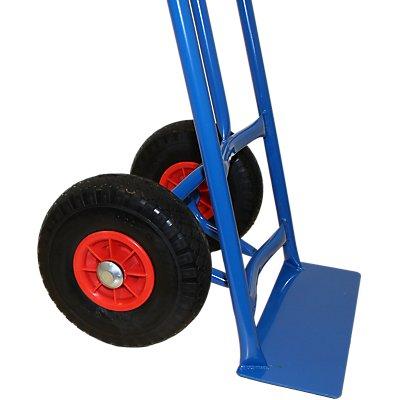 Faltbare Schwerlast-Sackkarre | Tragkraft 225 kg | HxBxT 1025 x 442 x 437 mm | Certeo