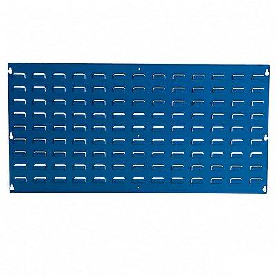 Wandpaneel aus Stahlblech - zum Einhängen von Sichtlagerkästen