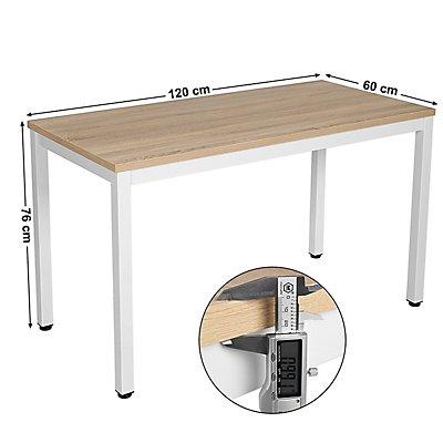 Schreibtisch von SONGMICS - Tischplatte 1200 x 600 mm