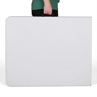 SONGMICS Klapptisch für Innen und Außen - Aufgeklappt HxBxT 740 x 1800 x 750 mm - Zusammengeklappt HxBxT 80 x 900 x 750 mm