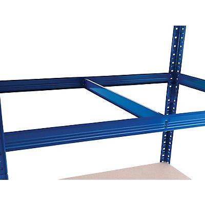 Mega Deal | 1x Werkbank und 4x Schwerlastregal | Tiefe 60 cm