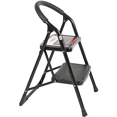 Trittleiter | 2 Stufen | 150 kg Traglast | newpo