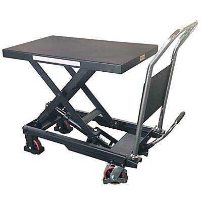Hubtischwagen | inkl. Fußpedal und Ablassventil am Griff  | newpo