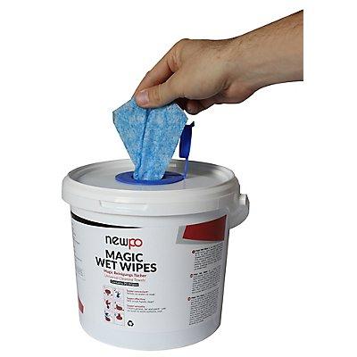 Reinigungstücher für industrielle Anwendung | 90 Tücher | newpo