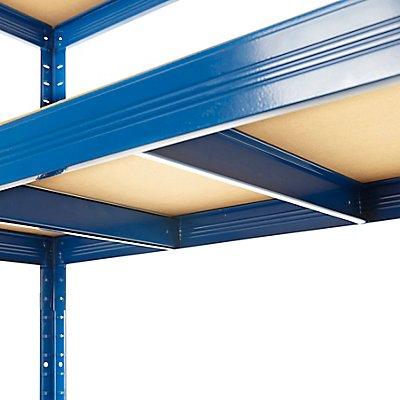 Mega Deal | 4x Schwerlastregal – Tiefe 60 cm - 265 kg pro Fachboden