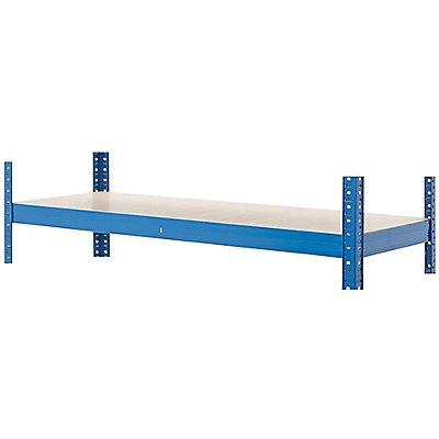 Mega Deal | 3x Schwerlastregal - Tiefe 45 cm und 1x Werkbank