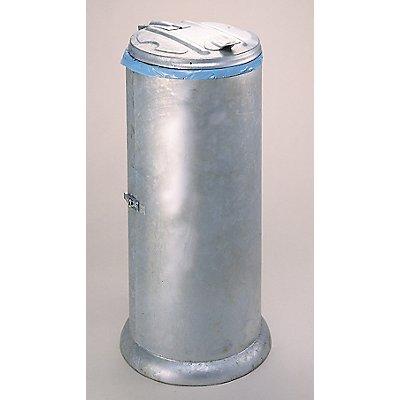 Verkleideter Müllsackständer mit Deckel | für Inhalt 60 l | Certeo