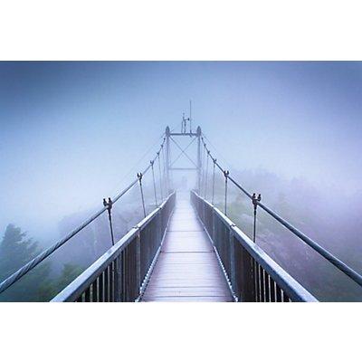Wandbild Swinging Bridge | Plexiglas | HxBxT 650 x 980 x 3 mm