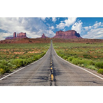 Wandbild Monument Valley | Plexiglas | HxBxT 650 x 980 x 3 mm