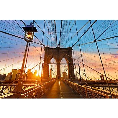 Wandbild Brooklyn Bridge | Plexiglas | HxBxT 650 x 98 x 3 mm