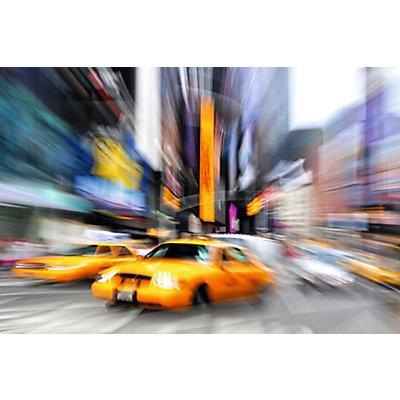 Wandbild Manhattan Taxi | Plexiglas | HxBxT 650 x 98 x 3 mm