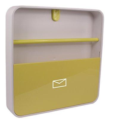 Dokumentenhalter | ABS weiß | HxBxT 320 x 320 x 50 mm
